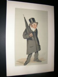 Vanity Fair Print 1876 Rev. Charles Old Goodford